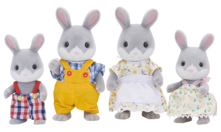 Familia Conejo Colita de Algodón - 4