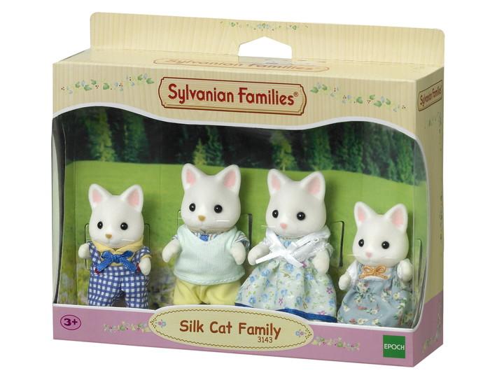 Silk Cat Family - 3