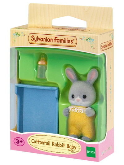 Cottontail Rabbit Baby - 4