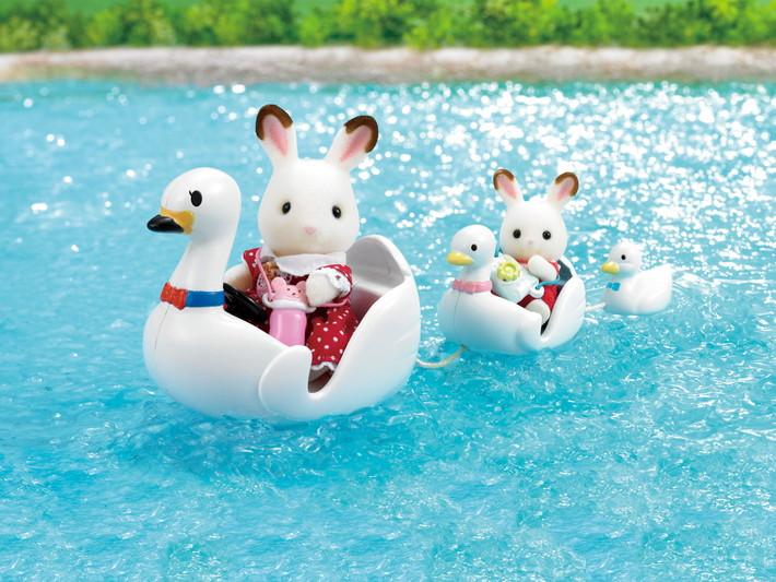 Swan Boat Set - 6