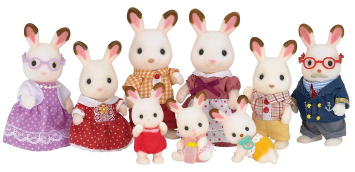 Chocolate Rabbit Twins - 5