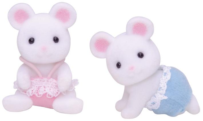 Белые Мышата-двойняшки - 4