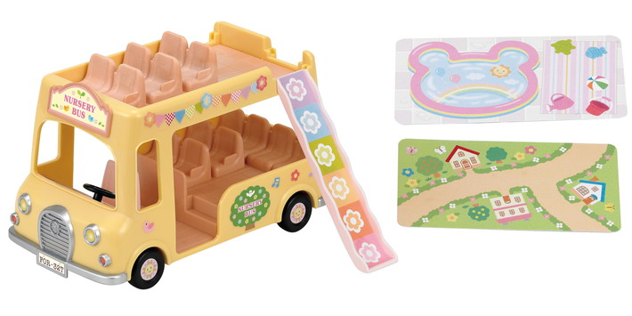 Nursery Double Decker Bus - 6