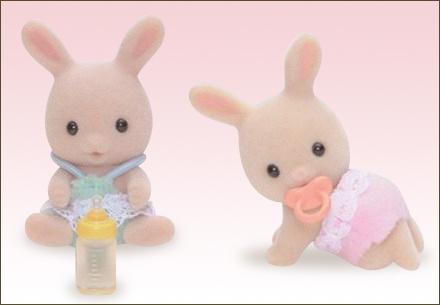 牛奶兔孖生BB - 3