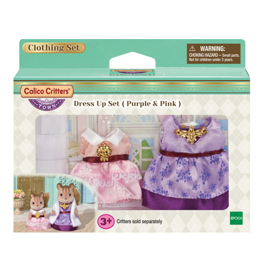 Dress up Set (Purple & Pink) - 5