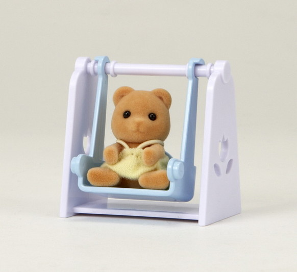 Bear Baby with Swing - 3