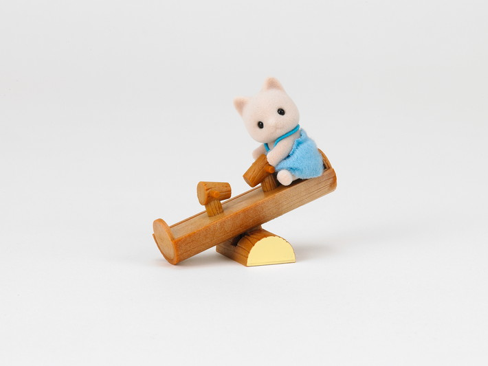 Cat Baby with See-Saw - 3