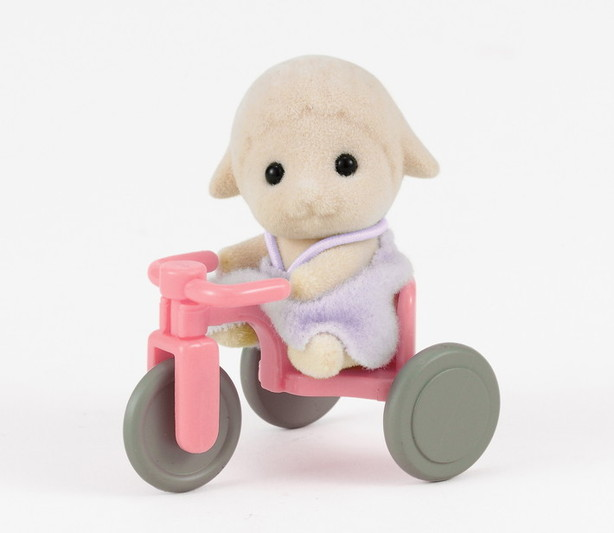 Sheep Baby with Tricycle - 3