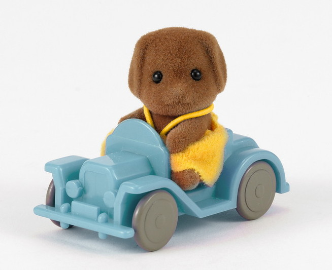 Dog Baby with Car - 3