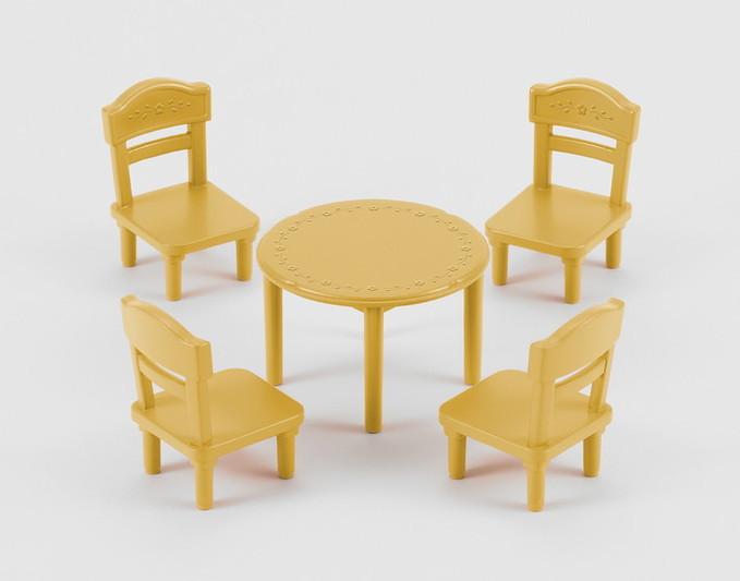 Conjunto de Mesa e Cadeira - 4