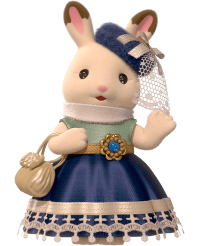 Hopscotch Rabbit older sister