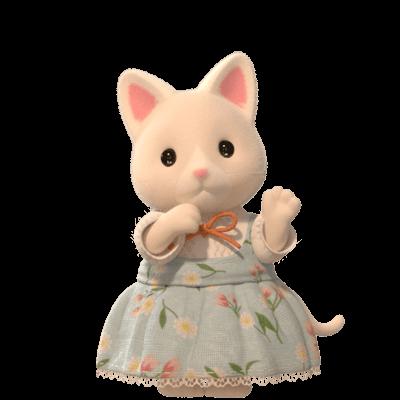 Hermana de la Familia Gatos de Seda