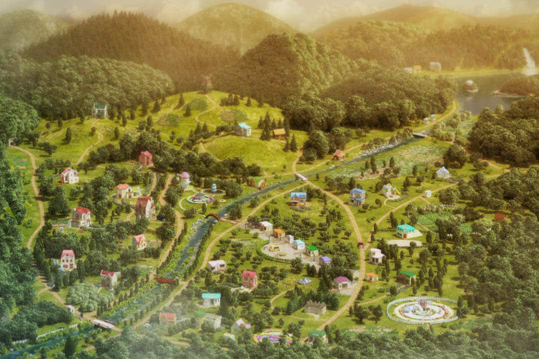 Sylvanian Village Map