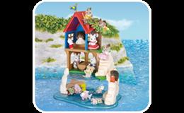 Wielka przygoda w sekretnym domku do zabaw na wyspie