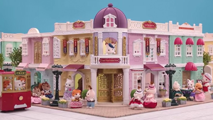New Series Arrival! Sylvanian Families Town Series