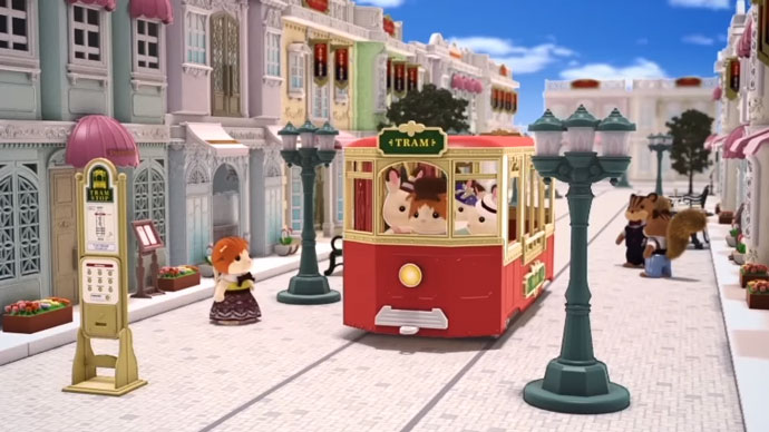 Welcom to Town! Sylvanian Families Town Series