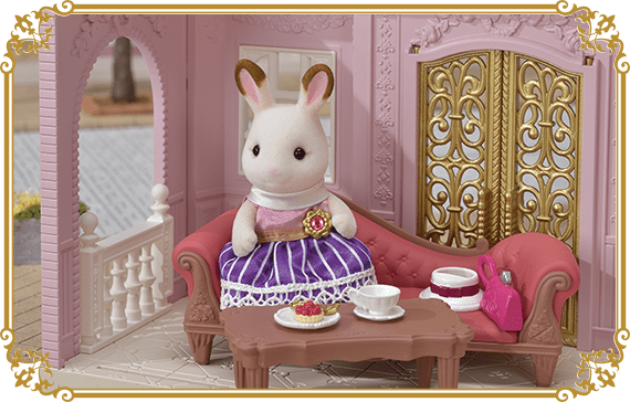 She also enjoys relaxing on her sofa with tea and treats after a long day of work.