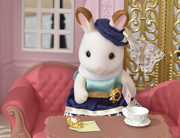 One day, Stella got a letter from her little sister Bell the Hopscotch Rabbit girl.